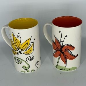Starbucks collectible coffee mugs